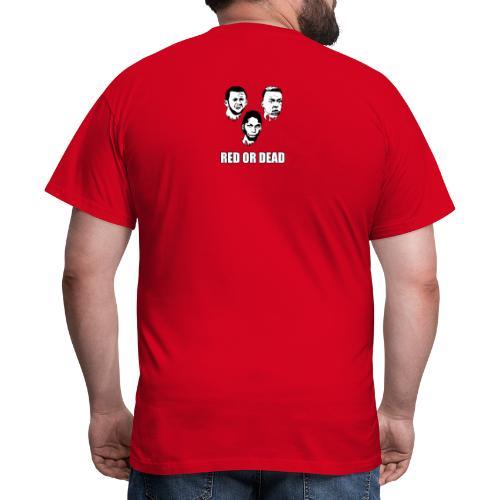 Red Or dead - Anti-Anderlecht - Mannen T-shirt