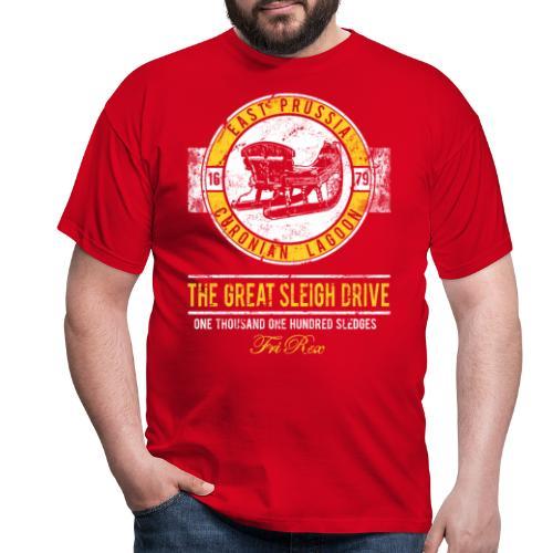 FriRex Schlittenfahrt - Männer T-Shirt