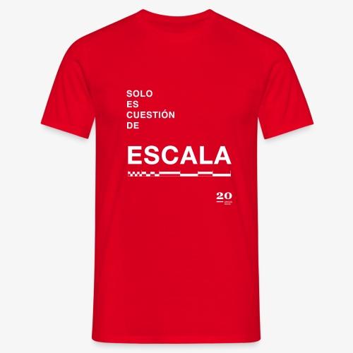 escala - Camiseta hombre