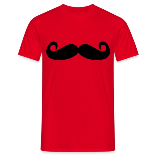 mostacho - Camiseta hombre