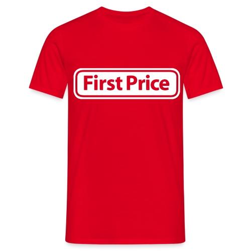 First Price - T-skjorte for menn