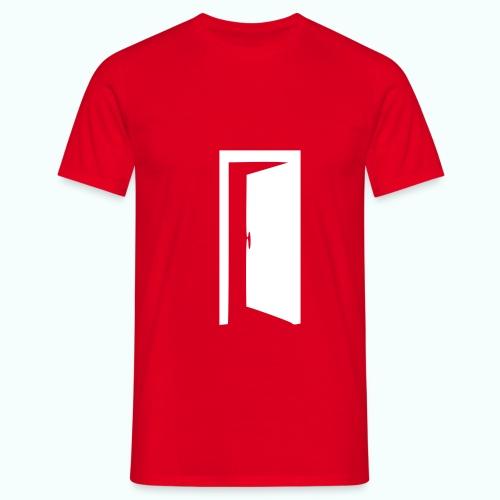 komm rein ... bin offen - Männer T-Shirt