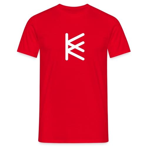 Kommkom symbol - T-shirt herr