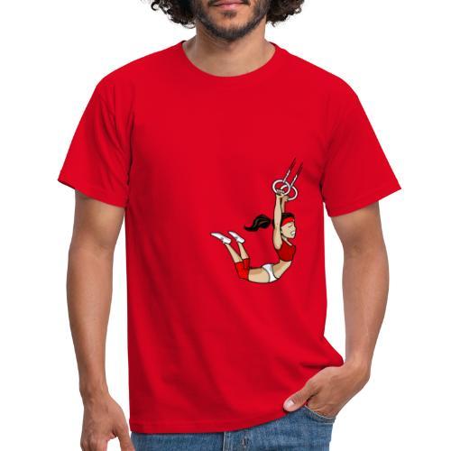 The flying girl - Männer T-Shirt
