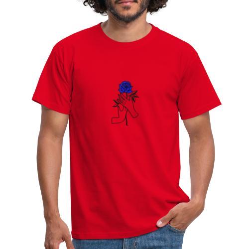 Fiore blu - Maglietta da uomo