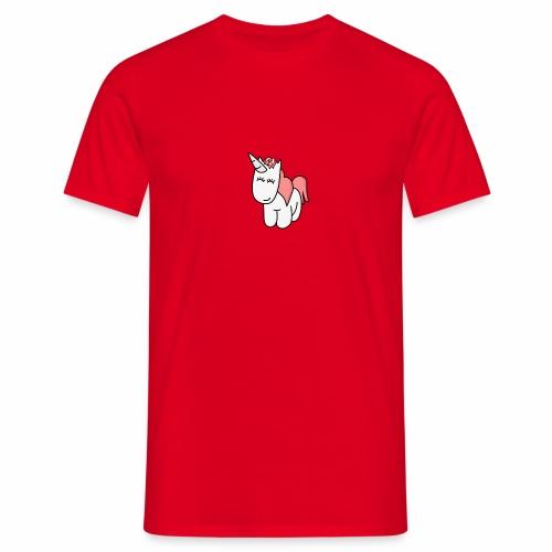 einhorn regenbogen einzeln 15228 - Männer T-Shirt