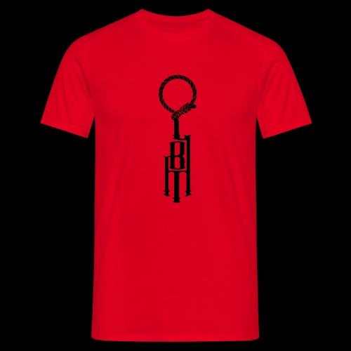 LBM Classic black - T-skjorte for menn