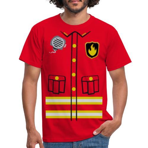 Firefighter Costume - Men's T-Shirt