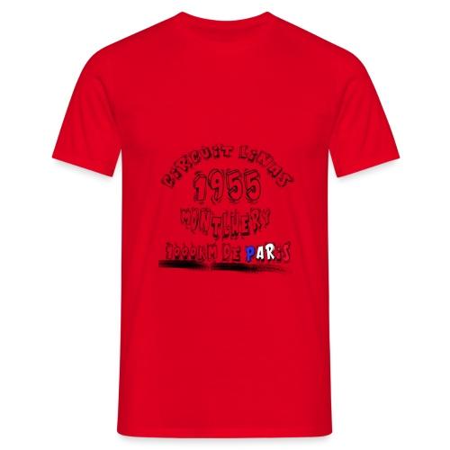 Les anciennes courses automobile - T-shirt Homme