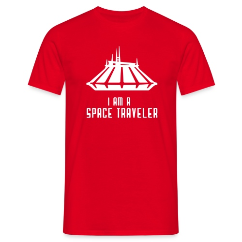 I Am A Space Traveler - Men's T-Shirt