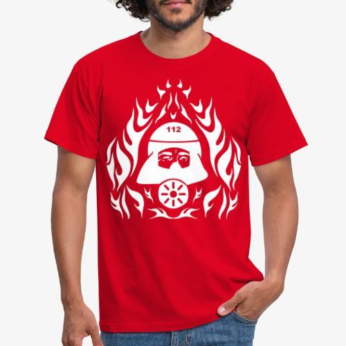 Atemschutz Flamme - Männer T-Shirt