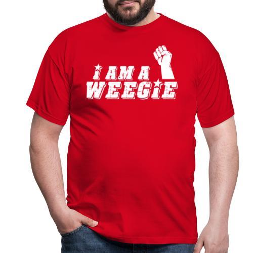 I Am A Weegie - Men's T-Shirt