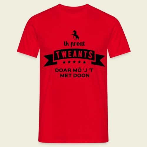 Ik proat Tweants...(donkere tekst) - Mannen T-shirt