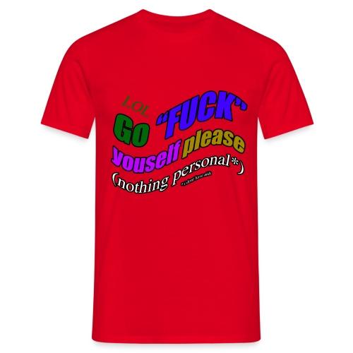 GoFuck - T-shirt Homme