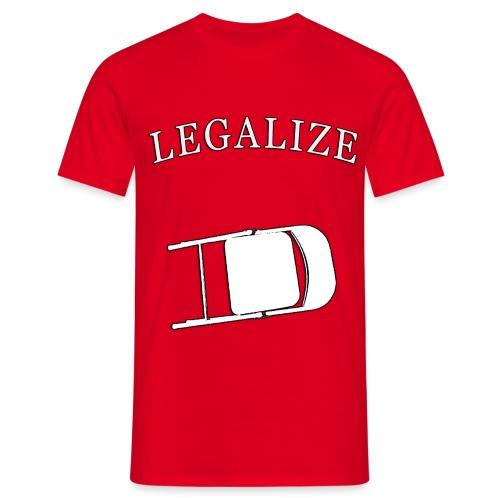 Legalize da Chair! - Maglietta da uomo