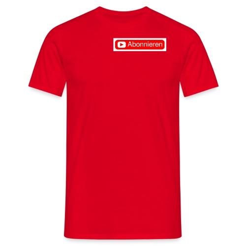 Abonnieren merch - Männer T-Shirt