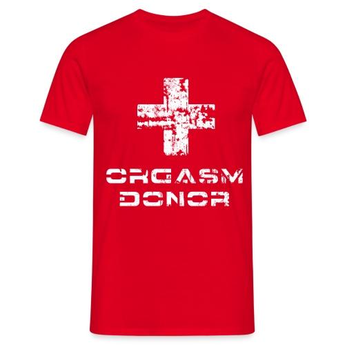 Orgasm Donor - Maglietta da uomo