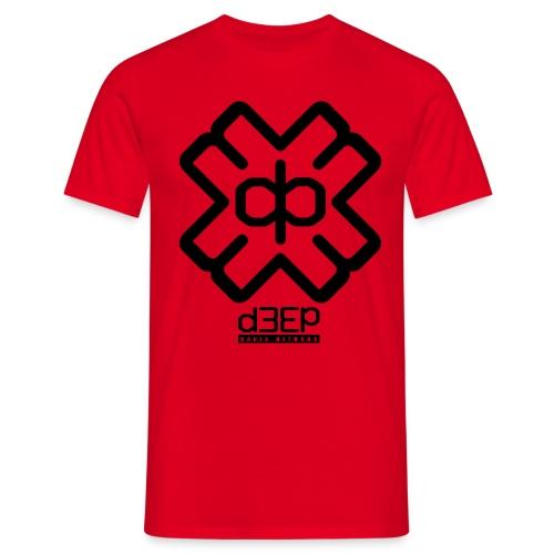 d3ep-full-black - Men's T-Shirt