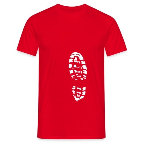 footstep - Männer T-Shirt