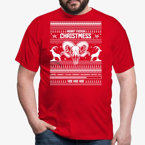 Merry Christmess Sweater - Winter Edition - Männer T-Shirt
