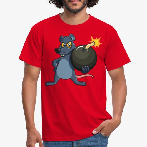 BombRat Lunte brennt - Männer T-Shirt