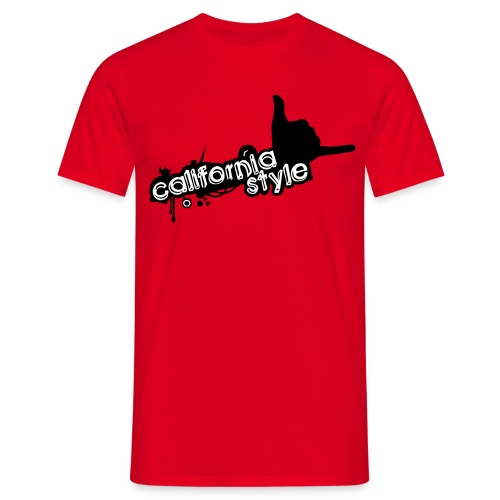 california style 1 - Maglietta da uomo
