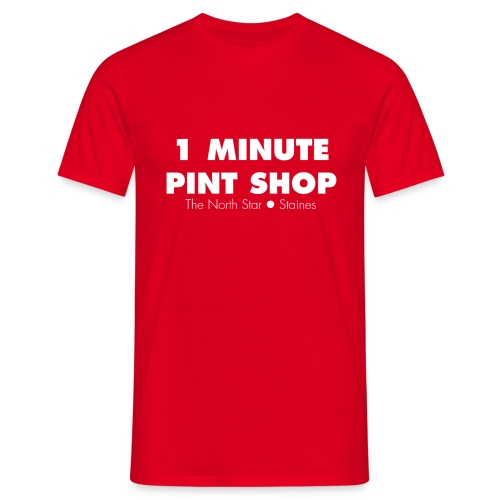 1minutepintshot - Men's T-Shirt