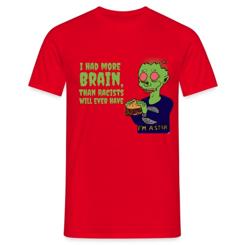 Had Brain - Men's T-Shirt