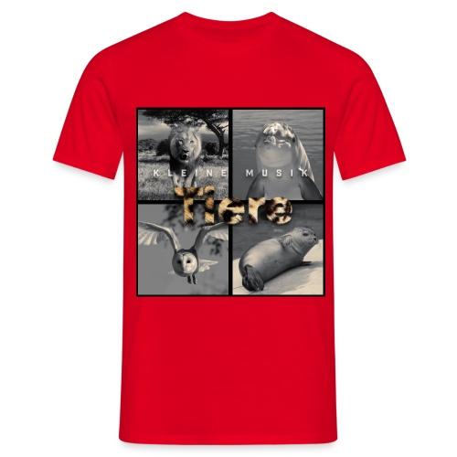 Tiere Cover jpg - Männer T-Shirt