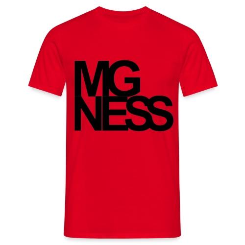342605 13654757 mgness black hr orig - Männer T-Shirt