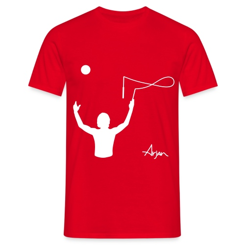 arjan overhead - Men's T-Shirt