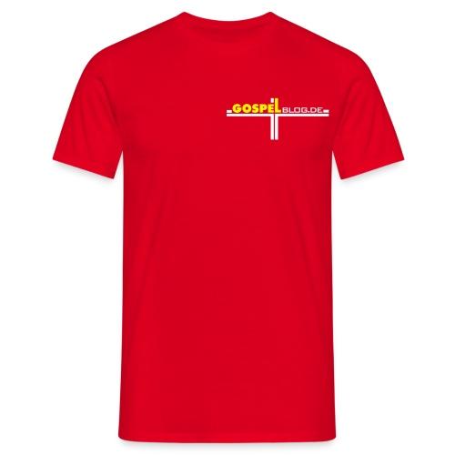 GospelBlog de - Männer T-Shirt