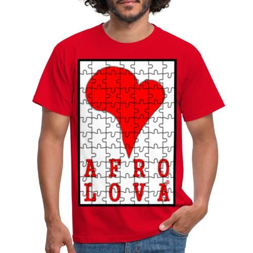 puzzle Afro Lova - T-shirt Homme