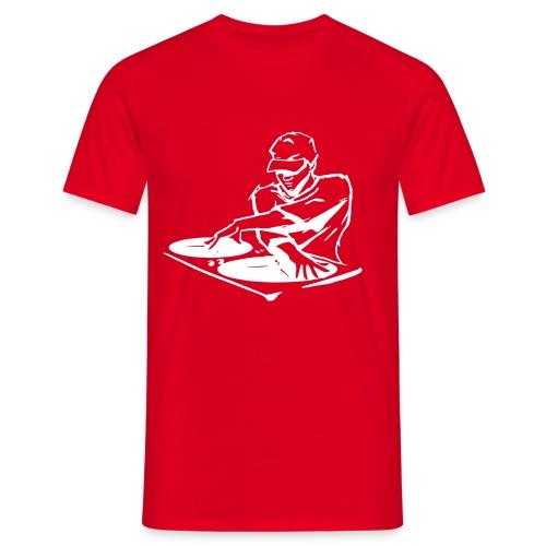 Deejay400Wit - Mannen T-shirt