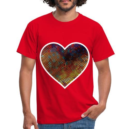 Techno Heart - Men's T-Shirt