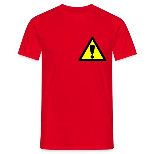 exclamacion - Camiseta hombre