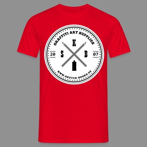 Sketch Books Logo (2C) - Männer T-Shirt