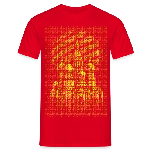 Russian Bricks - Men's T-Shirt