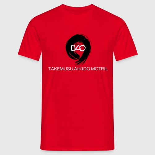 Takemusu Aikido Motril - Black Enso - Men's T-Shirt