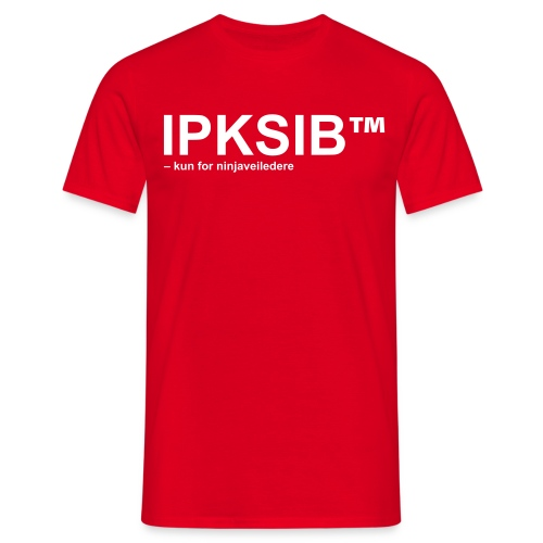 ipksip black - T-skjorte for menn