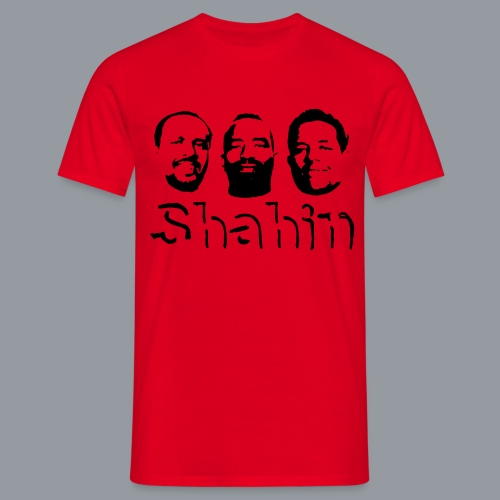 Shahin Team mit Schrift - Männer T-Shirt