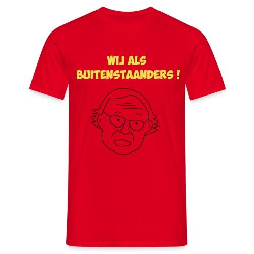 buitenstaanders - Mannen T-shirt