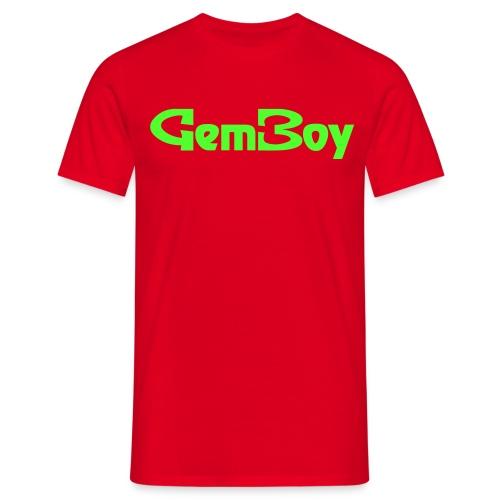 Scritta Gem Boy - Maglietta da uomo