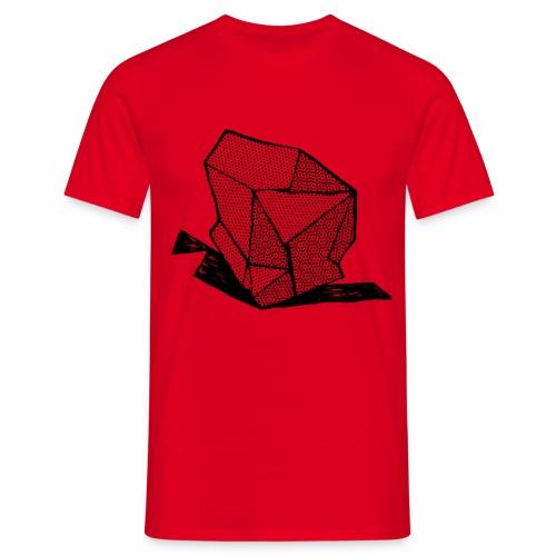 ROCK No 1 b w - Mannen T-shirt
