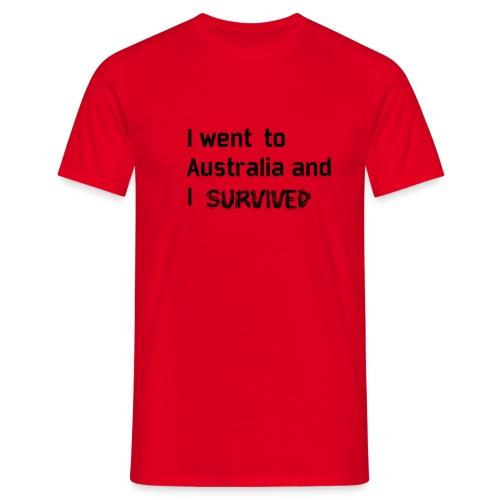 Australia Survivor black edition - T-shirt Homme