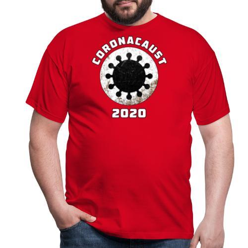 Coronacaust 2020 - Mannen T-shirt