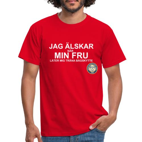 Jag Älskar Min Fru & Bågskytte - T-shirt herr