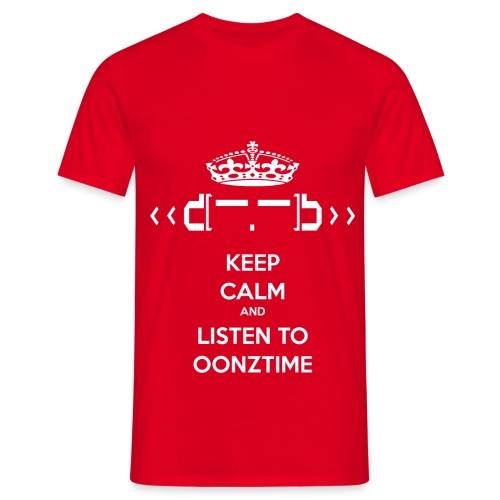Keep Calm png - Men's T-Shirt