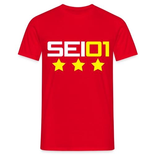 SEI01 with Three Stars - Men's T-Shirt