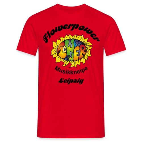 Leipzig schwarz - Männer T-Shirt
